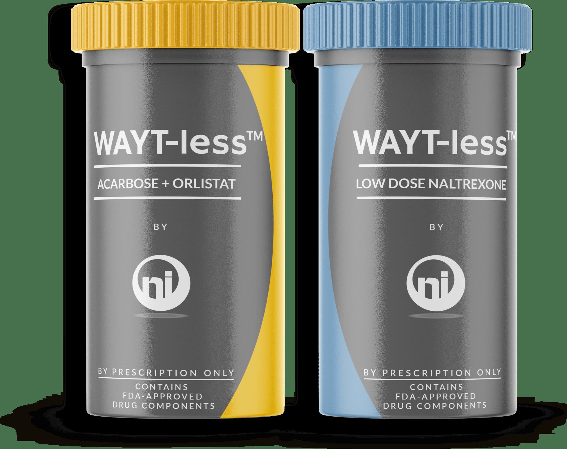 WAYT-less3-in-1 Acarbose,Orlistat,Naltrexone –hm5