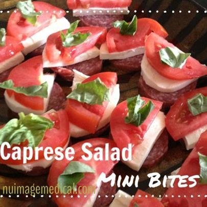 Caprese Salad Mini Bites for Phase 3