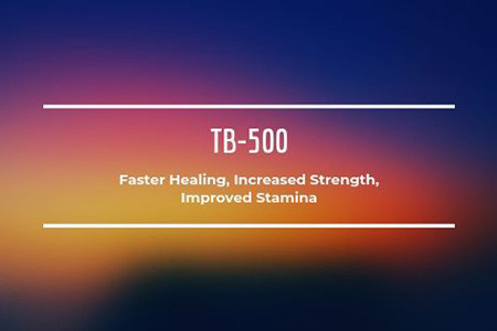 TB-500: Faster Healing, Increased Strength, Improved Stamina