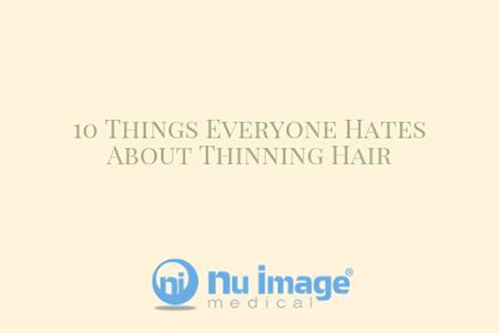 10 Things Everyone Hates About Thinning Hair