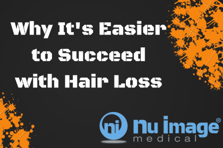 Why It's Easier to Succeed With Hair Loss Than You Might Think