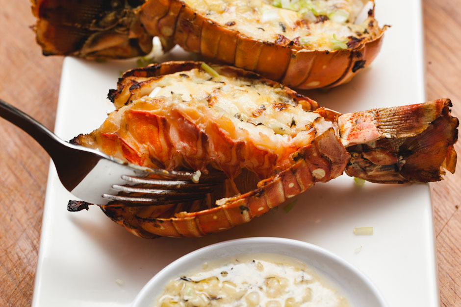 HCG Diet Baked Lobster
