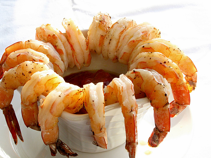 HCG Diet Shrimp Salad