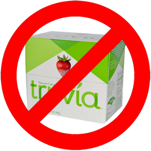 no to truvia